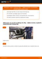 Kako zamenjati avtodel motorna olja in filter na avtu BMW X5 E53 – vodnik menjave