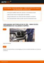 Hoe motorolie en filter vervangen bij een BMW X5 E53 – Leidraad voor bij het vervangen