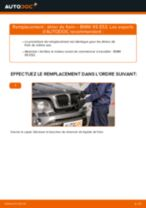 Comment changer : étrier de frein avant sur BMW X5 E53 - Guide de remplacement