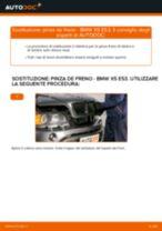 Come cambiare pinza de freno della parte posteriore su BMW X5 E53 - Guida alla sostituzione