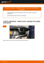Manuell PDF för X5 underhåll