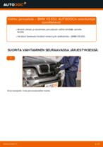 Kuinka vaihtaa jarrusatula eteen BMW X5 E53-autoon – vaihto-ohje