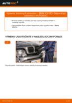 Ako vymeniť predné brzdový strmeň na BMW X5 E53 – návod na výmenu