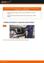 Jak vyměnit přední brzdový třmen na BMW X5 E53 – návod k výměně
