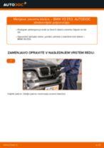 Kako zamenjati avtodel zavorne klešče spredaj na avtu BMW X5 E53 – vodnik menjave