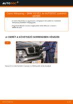Elülső féknyereg-csere BMW X5 E53 gépkocsin – Útmutató