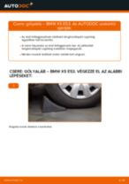 Cseréljünk Lengéscsillapító BMW X5: felhasználói kézikönyv