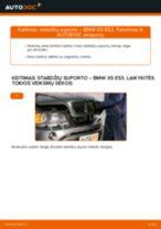 Automechanikų rekomendacijos BMW BMW E53 3.0 i Stabdžių Kaladėlės keitimui