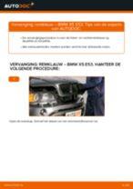 Hoe remklauw achteraan vervangen bij een BMW X5 E53 – vervangingshandleiding