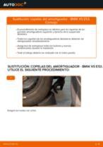 Cómo cambiar: copelas del amortiguador de la parte delantera - BMW X5 E53 | Guía de sustitución