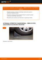 Jak wymienić sprężyny zawieszenia przód w BMW X5 E53 - poradnik naprawy