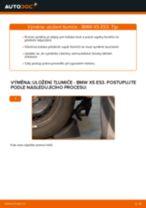 Doporučení od automechaniků k výměně BMW BMW E53 3.0 i Uložení Tlumičů