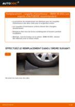 Comment changer : coupelle d'amortisseur arrière sur BMW X5 E53 - Guide de remplacement