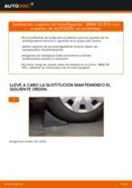 Cómo cambiar: copelas del amortiguador de la parte trasera - BMW X5 E53 | Guía de sustitución