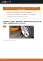 Jak vyměnit a regulovat Sada tlumičů BMW X5: průvodce pdf