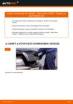 Hogyan cseréljünk Csapágyazás, kerékcsapágy ház MERCEDES-BENZ C-CLASS (W202) - kézikönyv online