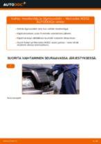 Kuinka vaihtaa moottoriöljy ja öljynsuodatin Mercedes W202-autoon – vaihto-ohje