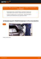 Jak wymienić filtr powietrza w Mercedes W202 - poradnik naprawy