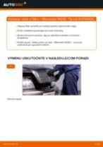 Návod na obsluhu MERCEDES-BENZ Trieda C - Manuál PDF