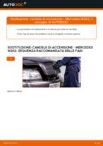 Candela di accensione MERCEDES-BENZ Classe C Sedan (W202) | PDF istruzioni di sostituzione
