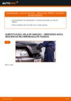 Como mudar vela de ignição em Mercedes W202 - guia de substituição