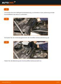 Wie der Wechsel durchführt wird: Innenraumfilter 3.0 d BMW E53 tauschen