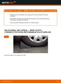 Cum să efectuați înlocuirea: Arc spirala la 3.0 d BMW E53