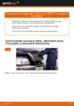 Come cambiare è regolare Pasticche freni MERCEDES-BENZ C-CLASS: pdf tutorial