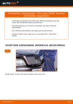 MERCEDES-BENZ C-CLASS Piduriketas vahetus: tasuta pdf