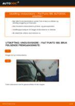 Bytte Viskerblader bak og foran FIAT gjør-det-selv - manualer pdf på nett