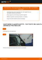 FIAT PUNTO eesmine ja tagumine Pesurikumm vahetamine: juhend online