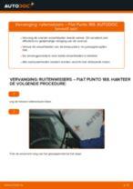 PDF handleiding voor vervanging: Ruitenwisserbladen FIAT PUNTO (188) achter en vóór
