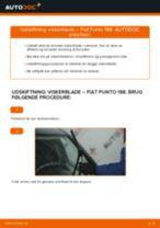 Automekaniker anbefalinger for udskiftning af FIAT Fiat Doblo Cargo 1.3 D Multijet Bremseklodser