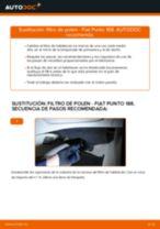 Cómo cambiar: filtro de polen - Fiat Punto 188 diésel | Guía de sustitución