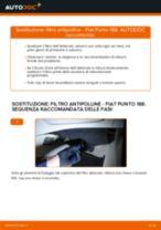 Come cambiare filtro antipolline su Fiat Punto 188 diesel - Guida alla sostituzione