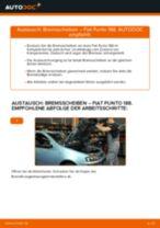 Schritt-für-Schritt-PDF-Tutorial zum Bremsscheiben-Austausch beim FIAT PUNTO (188)