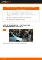 Byta bromsskivor fram på Fiat Punto 188 diesel – utbytesguide