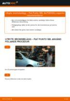 Byta bromsbelägg fram på Fiat Punto 188 diesel – utbytesguide