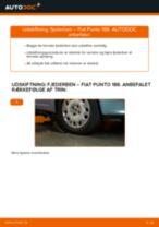 DIY-manual til udskiftning af Bremsebakker i VW SHARAN 2020