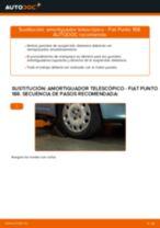Cambio Kit amortiguadores delanteros y traseros FIAT bricolaje - manual pdf en línea