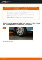Come cambiare ammortizzatore a molla della parte anteriore su Fiat Punto 188 diesel - Guida alla sostituzione