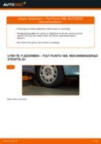 Byta fjäderben fram på Fiat Punto 188 diesel – utbytesguide