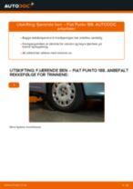 Skifte Baklys FIAT PUNTO: gratis pdf