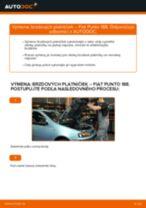 Ako vymeniť predné brzdové platničky na Fiat Punto 188 diesel – návod na výmenu