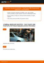 Naučte se jak opravit problémy s zadní a přední Brzdové Destičky FIAT