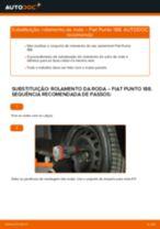 Como mudar rolamento da roda da parte dianteira em Fiat Punto 188 diesel - guia de substituição