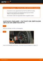 Wie Lambda Sensor FIAT PUNTO tauschen und einstellen: PDF-Tutorial