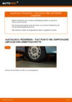 Nebelscheinwerfer Glühlampe wechseln: Online-Anweisung für FIAT PUNTO