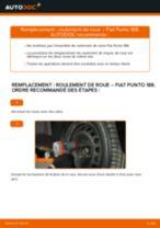Comment changer : roulement de roue avant sur Fiat Punto 188 diesel - Guide de remplacement