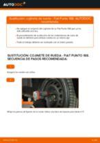 Cómo cambiar: cojinete de rueda de la parte delantera - Fiat Punto 188 diésel | Guía de sustitución